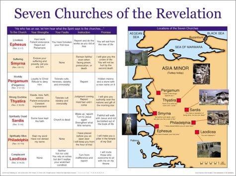9789901982615: Seven Churches of the Revelation! Chart (Seven Churches of the Revelation!)