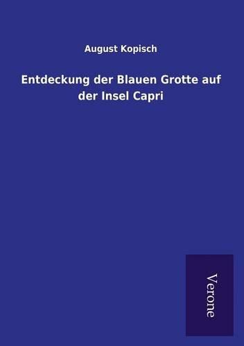 9789925001446: Entdeckung der Blauen Grotte auf der Insel Capri