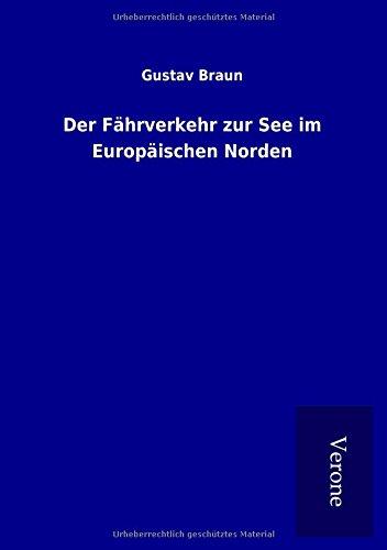 9789925005246: Der Fährverkehr zur See im Europäischen Norden