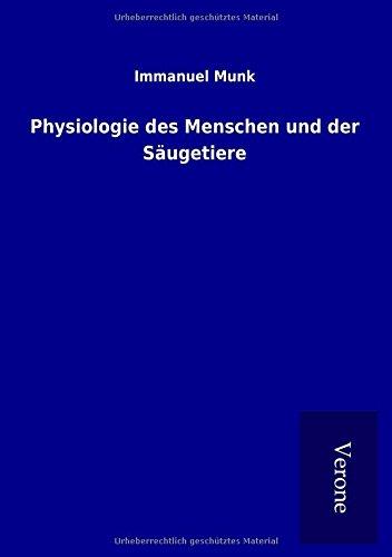 9789925008292: Physiologie des Menschen und der Säugetiere