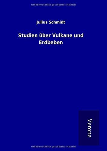 9789925010509: Studien über Vulkane und Erdbeben