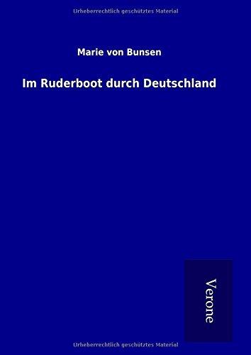 9789925013135: Im Ruderboot durch Deutschland