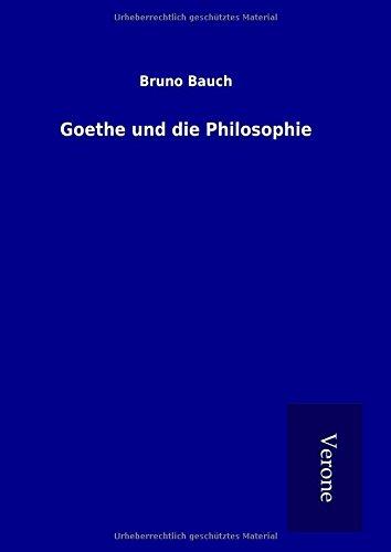 9789925013784: Goethe und die Philosophie