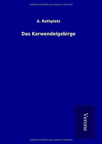 9789925015528: Das Karwendelgebirge