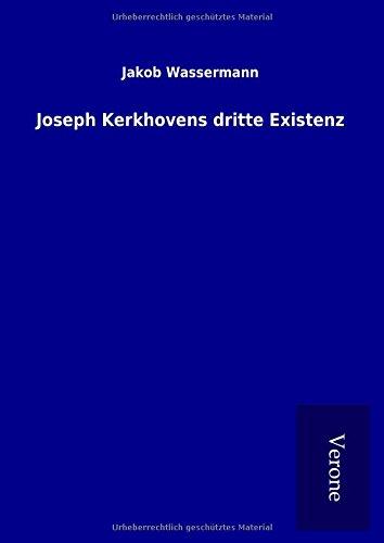 9789925076024: Joseph Kerkhovens dritte Existenz