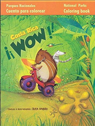 9789930946336: Costa Rica Wow : libro de colorear