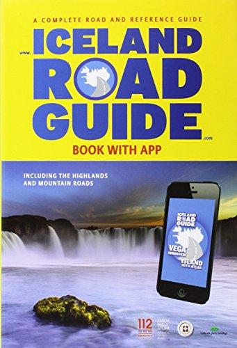 Iceland Road Guide + App 2015: ICELANDA.20.E: Vegahandbokin