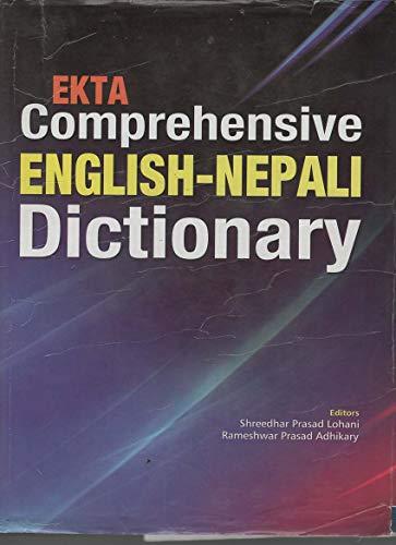 9789937101097: EKTA Comprehensive Academic ENGLISH - NEPALI