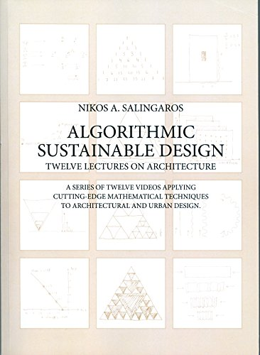 9789937623094 Algorithmic Sustainable Design Twelve Lectures On