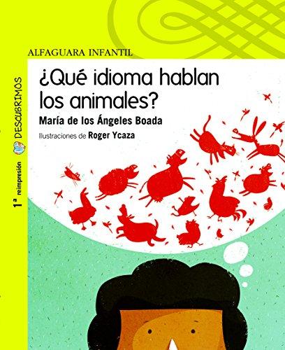 9789942190062: ¿Qué idioma hablan los animales?/ What language do the animals talk? (Descubrimos)