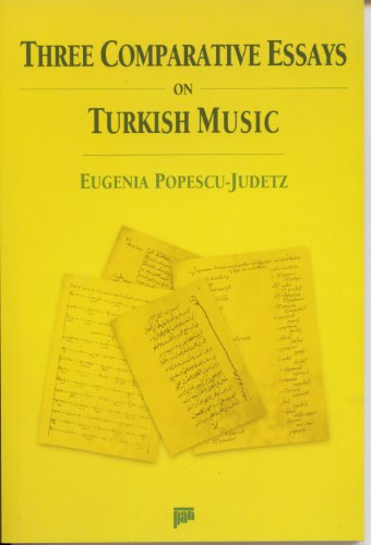 Three comparative essays on Turkish music.