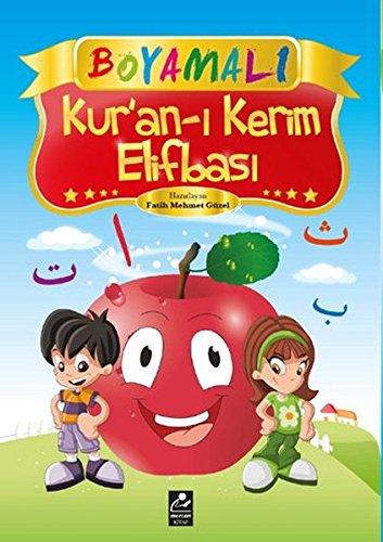 9789944742696: Boyamali Kur'an-i Kerim Elifbasi