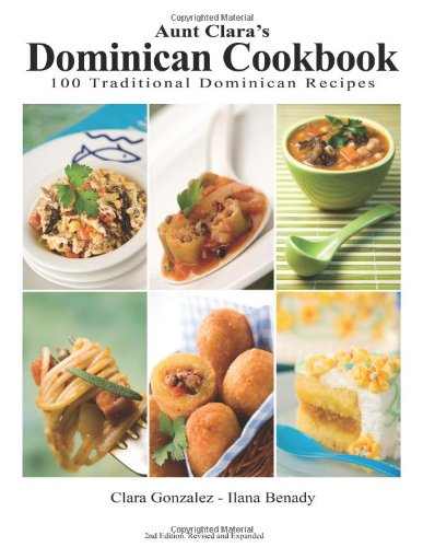 9789945045000: Aunt Clara's Dominican Cookbook
