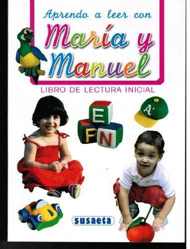 9789945120080: APRENDO A LEER CON MARIA Y MANUELA: Libro de Lectura Inicial
