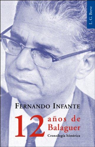 9789945410105: 12 años de Balaguer. Cronología histórica