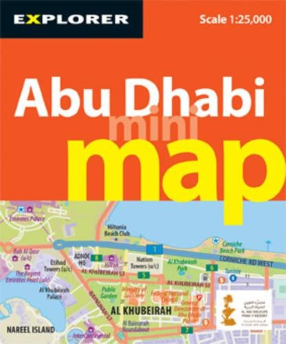 9789948441915 - Explorer Publishing: Abu Dhabi Mini Map, 3rd (Explorer - Mini Maps) - كتاب