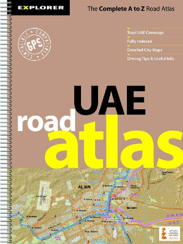 UAE Road Atlas (Country Atlases): Explorer Publishing and