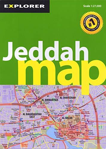 Jeddah Map: Explorer Publishing and
