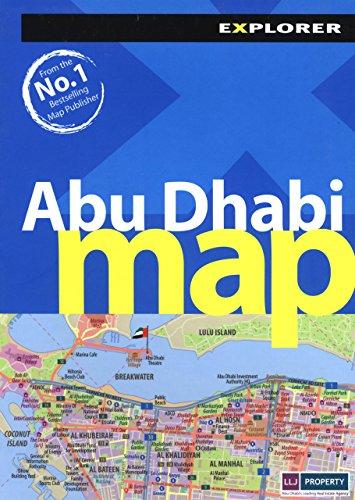 9789948442745 - Explorer Publishing and Distribution: Abu Dhabi Map - كتاب