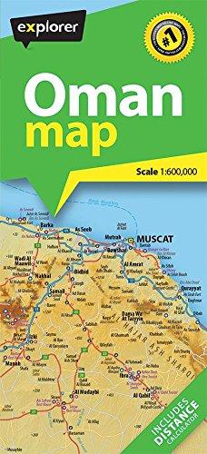 9789948450160: Oman Road Map