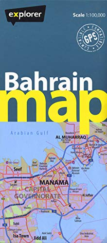 Bahrain country map bah cym 1 by explorer publishing and bahrain country map bah cym 1 explorer publishing and distribution gumiabroncs Images