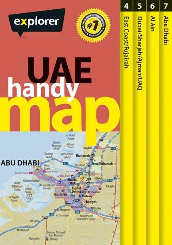 9789948450955: UAE Handy Map: 1