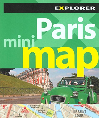 Paris Mini Map: Explorer Publishing