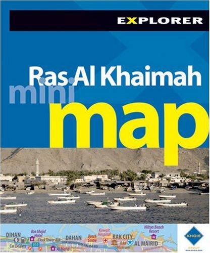 9789948858973: Ras Al Khaimah Mini Map