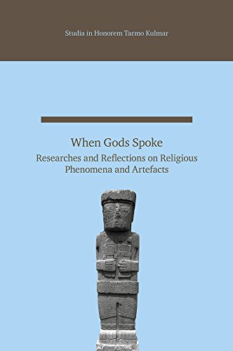 9789949329809: When Gods Spoke: Researches and Reflections on Religious Phenomena and Artefacts: Studia in Honorem Tarmo Kulmar (Studia Orientalia Tartuensia)