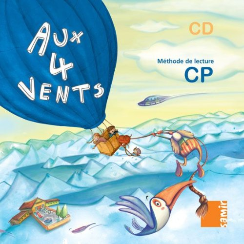 9789953313351: Aux 4 vents : Méthode de lecture CP - CD