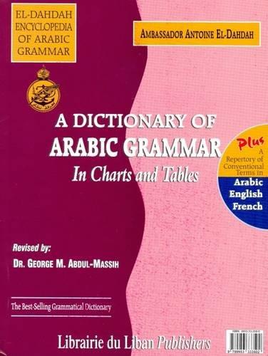 A Dictionary of Arabic Grammar in Charts: Antoine El Dahdah
