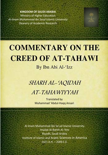 9789960043234: Commentary on the creed of Aṭ-ṭaḥāwī by =: Sharh al-'aqidah At-ṭaḥāwiyyah