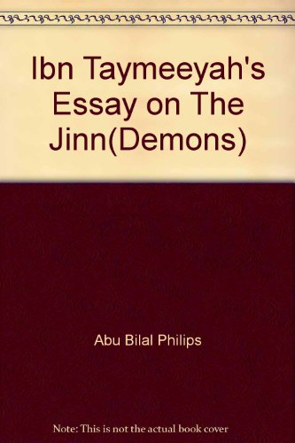 9789960672878: Ibn Taymeeyah's Essay On THE JINN (Demons)