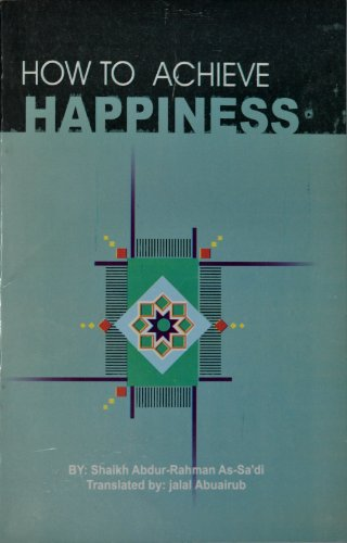 9789960897752: How to Achieve Happiness