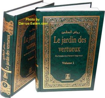 French: Riyad-us-saliheen (2 Vol. Set) Le Jardin: Imam Al-Nawawi