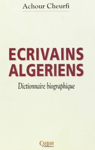 9789961643983: Ecrivains algériens
