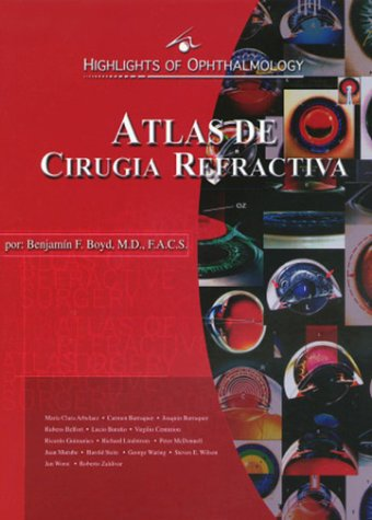 9789962613015: Atlas De Cirugia Refractiva