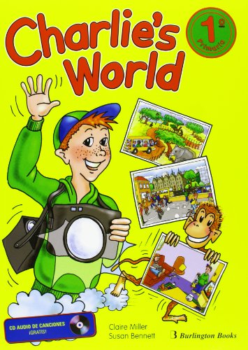 9789963463695: Charlies World 1. Student's Book. E.P. 1 (+ CD)