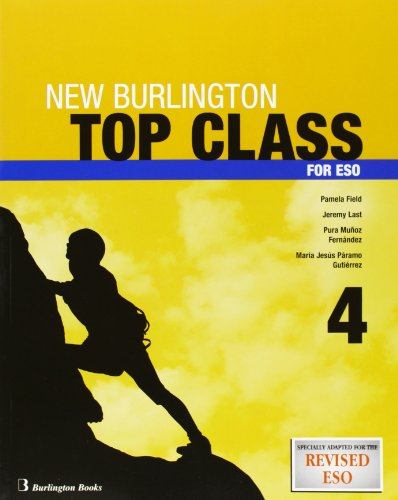 9789963467495: New Top Class. 4º ESO - Student's Book 4 (+ CD)