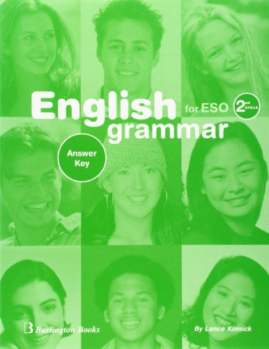 9789963473564: English Grammar Workbook For ESO. 2nd Cycle - Answer Key