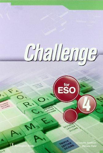 9789963473915: Challenge. Student's Book. 4º ESO