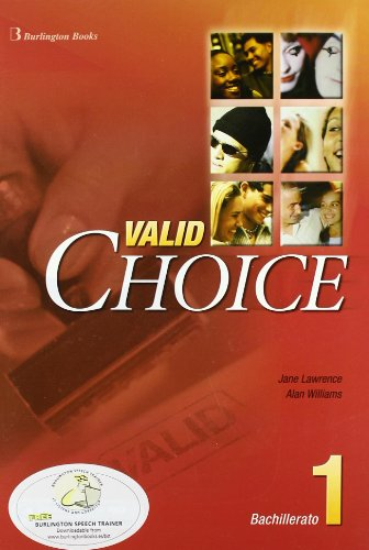 9789963474691: Valid Choice For Bachillerato 1. Student's Book - 9789963474691