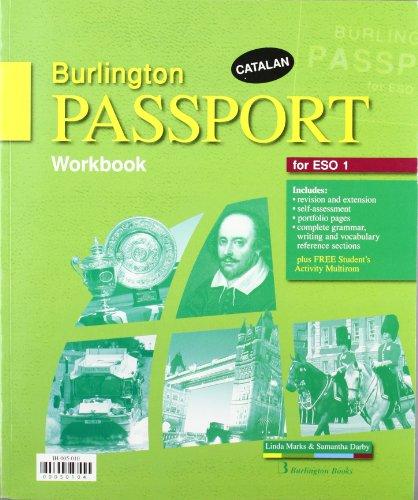 9789963481279: BURLINGTON PASSPORT FOR 1 ESO WB+(WEB ACT) (ED.CAT)