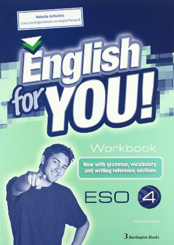 9789963481361: English For You. Workbook. Word Games. 4º ESO