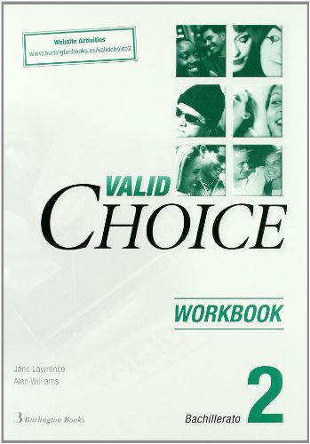 9789963481583: Valid Choice For Bachillerato 2. Workbook. Website Activities - 9789963481583