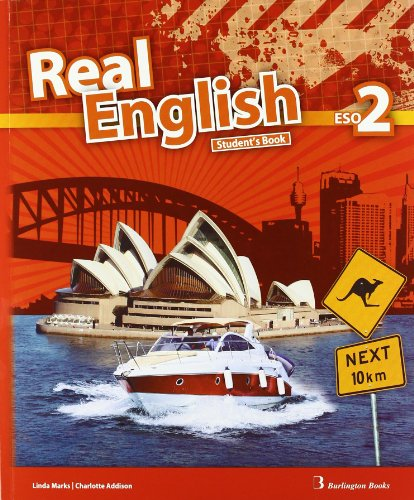 9789963482184: Real English. Student's Book. 2º ESO