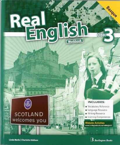 9789963482306: Real English. Workbook. Basque. 3º DBH