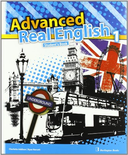 9789963484492: Advanced. Real English. Student's Book. 1º ESO