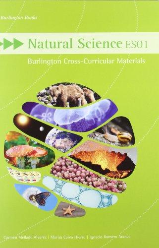 9789963485130: Burlington Cross-Curricular Material For ESO 1. Natural Science 2011