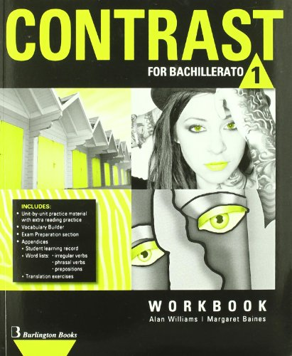 9789963485161: Contrast For Bachillerato 1. Workbook - 9789963485161